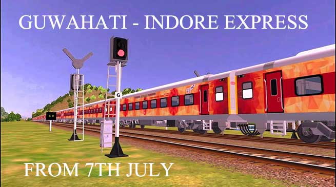 Prabhu will Flag off  Guwahati-Indore Express on tomorrow