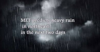 MET predicts heavy rain in northeast in the next two days
