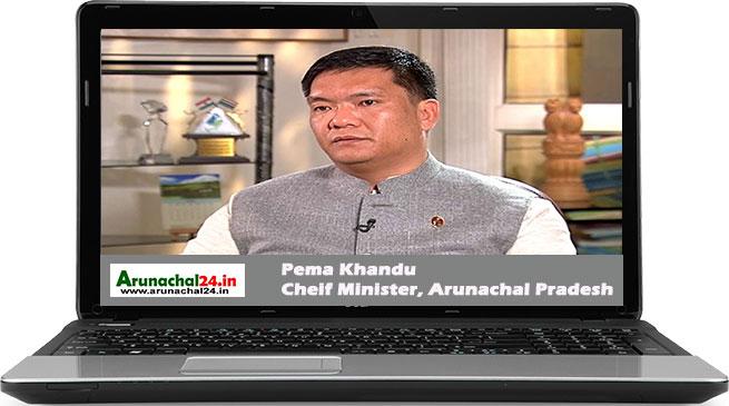 "Online Interview with CM Khandu- Three ""Es"" to he bedrock of the development agenda"