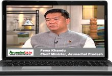 "Photo of Online Interview with CM Khandu- Three ""Es"" to he bedrock of the development agenda"