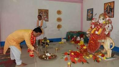 Photo of Consecration of goddess Maa Durga idol by Kumsi Sidisow