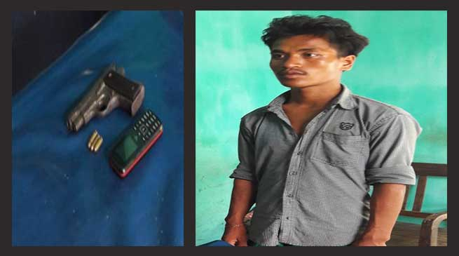 Kokrajhar- NDFB-S rebel arrested along with arms