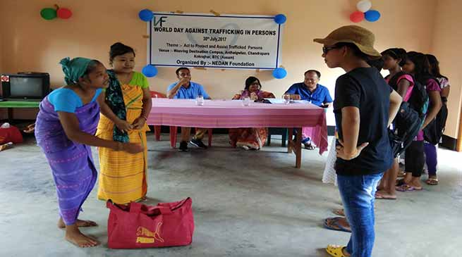 NEDAN Observed World Day Against Trafficking in Persons