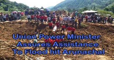 Union Power Minister Assures Assistance To Flood hit Arunachal