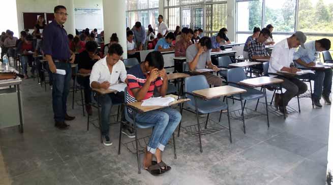 week long Rajiv Gandhi University Common Entrance Test-2017 begins