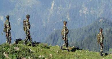 Chinese army entered Chamoli dist of Uttarakhand