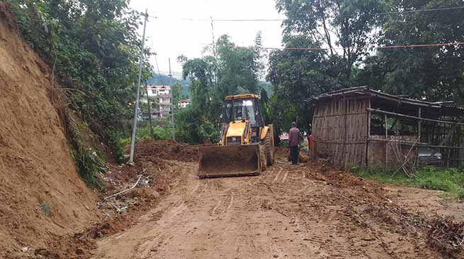 PWD Capital division A  starts restoration of colony roads