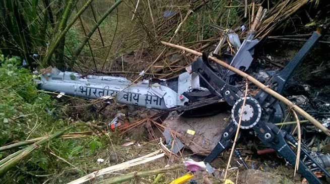 Former CM Nabam Tuki expresses grief over the Crash of IAF Helicopter