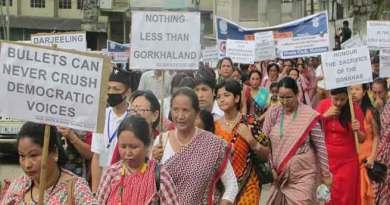 Nagaland Gorkha Association joined Global Gorkhaland Unity March