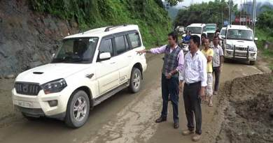 Two way traffic between Itanagar-Naharlagun resumed