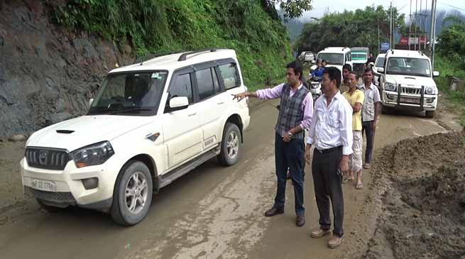 Two way traffic between Itanagar-Naharlagun resumed