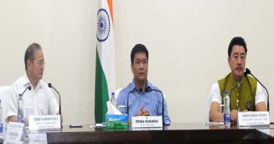 Khandu Announced Free electricity to the villages affected in Ranganadi Power project