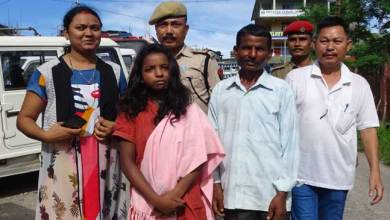 Photo of Assam Police rescue minor girl from Itanagar