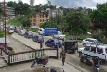 The people of the state capital, Itanagar experienced biggest traffic jam of the year. The traffic jam of Itanagar was a horrible as it was at snail's  pace