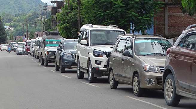 Itanagar- People want respite from traffic menace