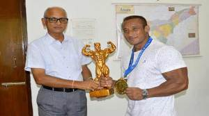 Arambam Bobby Singh of NF Railway secure gold medal