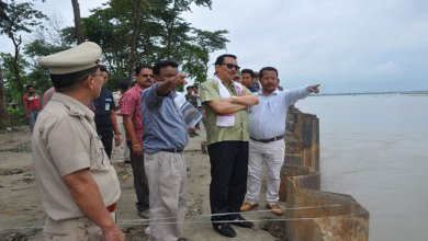 Photo of Deputy CM Chowna Mein visited flood affected areas of state