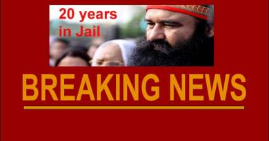 Gurmeet Ram Rahim Singh gets 20 years in jail