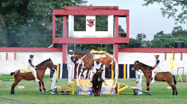 Gajraj Corps organises basic Horse Riding & Animal Management Camp