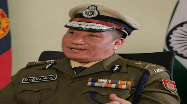 IPS officer Robin Hibu to receive Distinguished Service