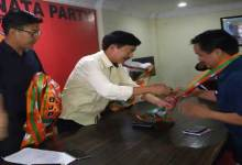 Photo of APYC president Jikke Tako Joins BJP