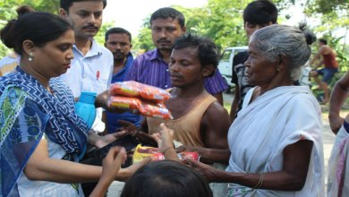 Photo of Army Public School (APS), Tezpur distribute flood relief item to villagers
