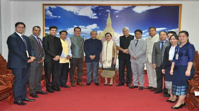 ASEAN countries and North East India should use tourism for economic development- Chowna Mein