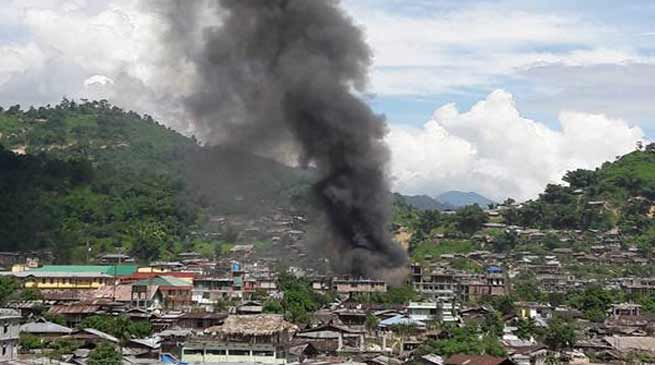 Major fire in Daporijo's Market burns down several shops and houses