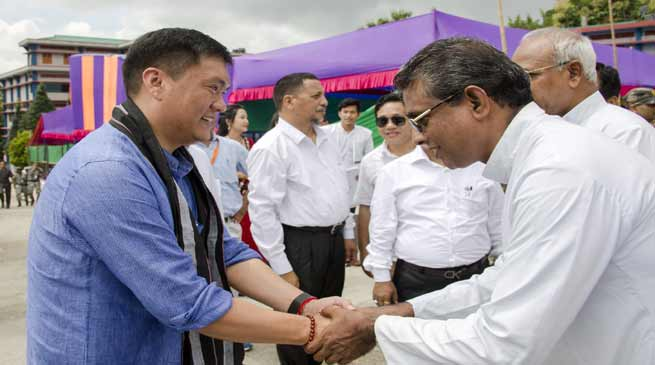 Khandu lauded Christian missionaries for major role in education sector