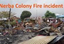 Nerba Colony Fire incident- Khandu assured victims, will rehabilitate and compensate the loss