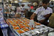 NF Railway conduct inspection drive of kitchens, pantry cars