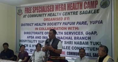 Sagalee- Phurpa inaugurates two days mega health camp