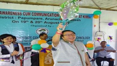 Photo of Kimin- Science awareness cum communication programme held