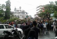 Shillong- 3 killed after eucalyptus tree was uprooted at Raj Bhavan campus