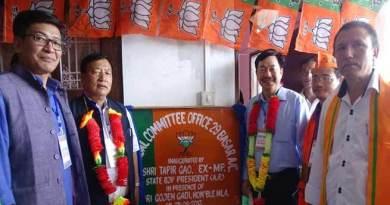 No threat to BJP government, Pema Khandu to continue- Tapir Gao