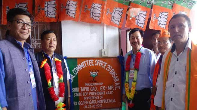 No threat to BJP government, Pema Khandu to continue- Tapir Gao