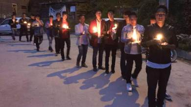 SUMAA organises Candle Light Procession for late Toko Yame