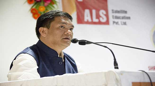 Khandu inaugurates ALS- the first Civil Service Coaching Centre in State