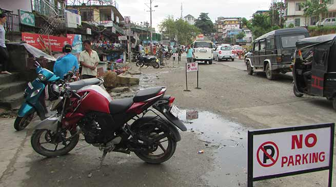 No Parking at Bank Tinali an eye wash, Massive awareness on traffic is required