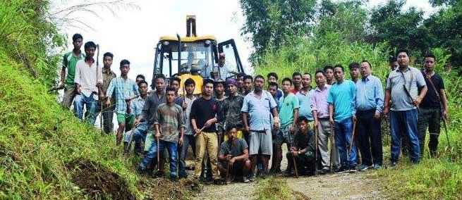 """Swachhata Hi Seva"" held at Huakan, a remote village of Arunachal"