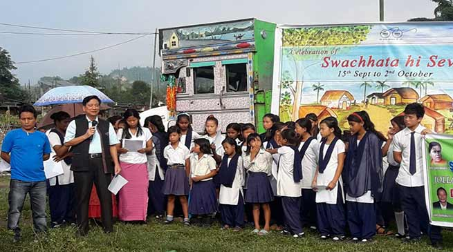"Arunachal: "" Swachhata Hi Seva "" gets momentum all over state"