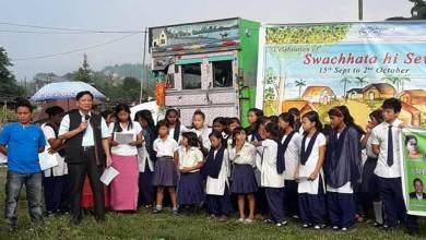 "Arunachal: "" Swachhata Hi Seva "" gets momentum all over state"