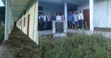 Vivekananda Kendra Vidalaya at Nyapin in worst condition
