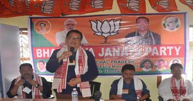 Namsai- Chowna Mein inaugurates BJP mandal office at Mahadevpur
