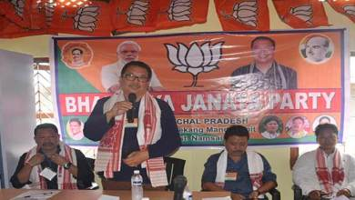 Photo of  Namsai- Chowna Mein inaugurates BJP mandal office at Mahadevpur
