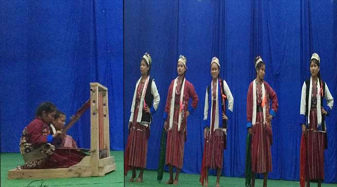 Bomdila: Education Dept organises Kala Utsav Competition