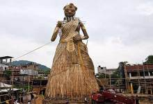 Photo of Guwahati: World's tallest Durga idol ready to enter Guinness Book World Records