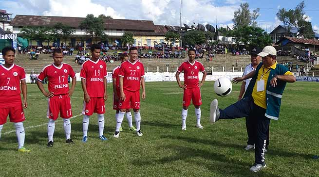 Aalo: Mangha kicks off 2nd Binga Ette memorial football tournament