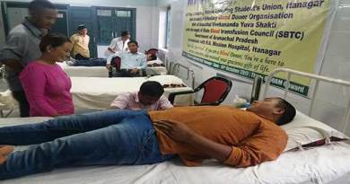 Itanagar: AVBDO conduct blood donation camp