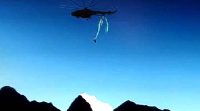 IAF helicopter Crash In Arunachal Video goes Viral